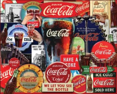 Coca-Cola Puzzles - Decades of Tradition