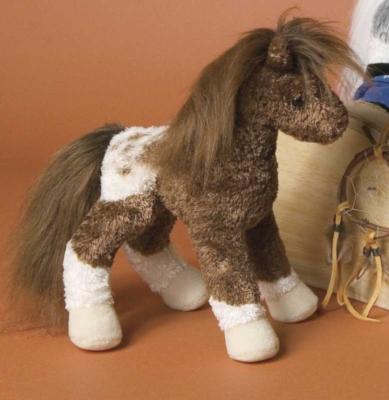 Uma Appaloosa - 9'' Horse By Douglas Cuddle Toys
