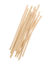 "Wooden 5.5"" Coffee Stirrer (w/ square ends), 10000/cs"