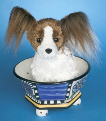 Peppy Papillon - 9'' Dog By Douglas Cuddle Toys