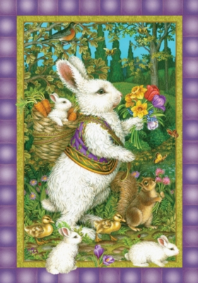 Classic Bunny - Standard Flag by Toland