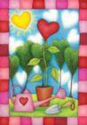 Heart Garden - Garden Flag by Toland