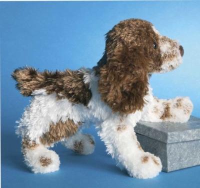 Pointer Springer Spaniel - 9'' Dog By Douglas Cuddle Toys