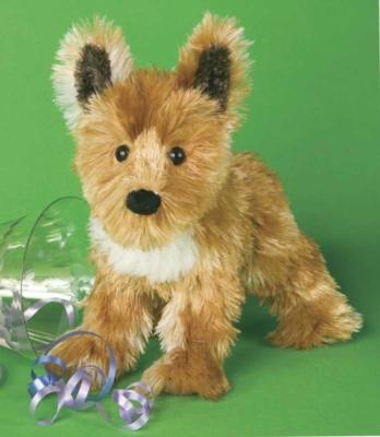 Rascal Shep-Terrier - 9'' Dog By Douglas Cuddle Toys