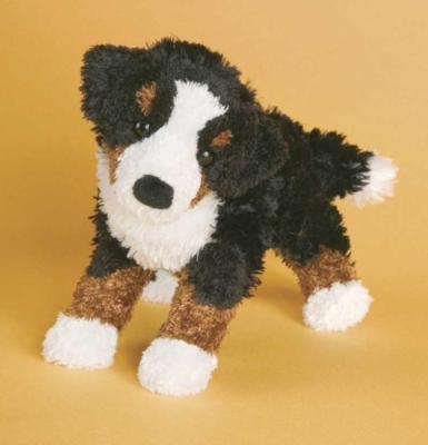 Cliff Bernese Mountain Dog - 9'' Dog by Douglas Cuddle Toys