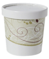 Solo Food Container w\ Lid 12oz KH12A-J8000 250cs