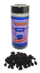 Raisins Breakfast Topper, case of 12, 8oz bottles