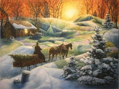 Jigsaw Puzzles - Winter Blanket