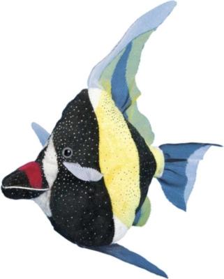 Lady Moorish Idol Fish - 10'' Fish By Douglas Cuddle Toys