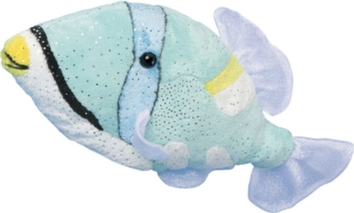Painter Trigger Fish - 10'' Fish By Douglas Cuddle Toys