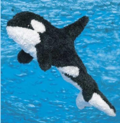 Spout Orca - 13'' Whale By Douglas Cuddle Toys