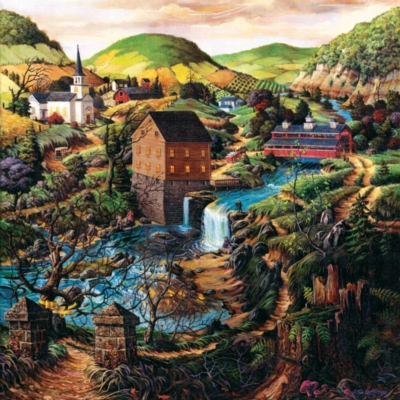 Jigsaw Puzzles - Yellow Ribbon Path