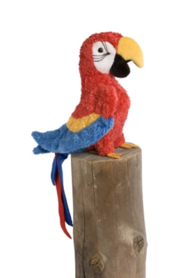 Gabby Red - 7.5'' Parrot By Douglas Cuddle Toys