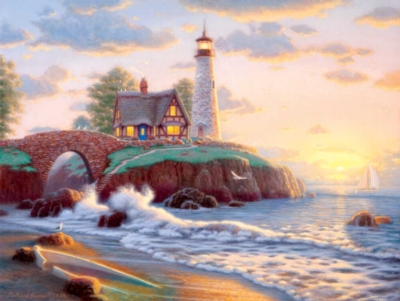 Jigsaw Puzzles - Lighthouse Point