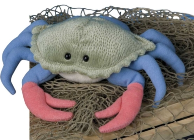 Buster Blue - 9'' Crab By Douglas Cuddle Toys